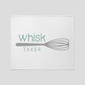 Whisk Taker Throw Blanket