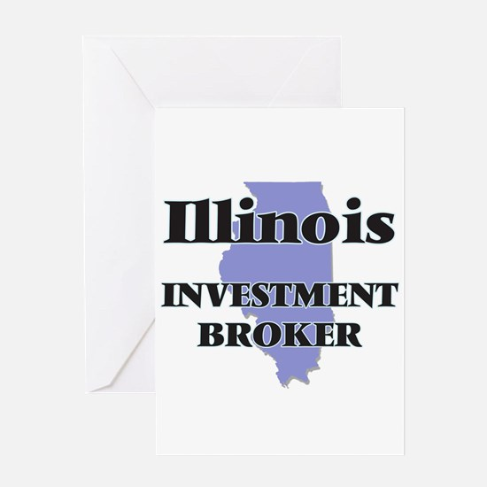 Illinois Investment Broker Greeting Cards