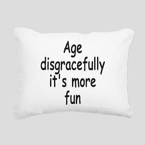 Disgracefully 2 Rectangular Canvas Pillow