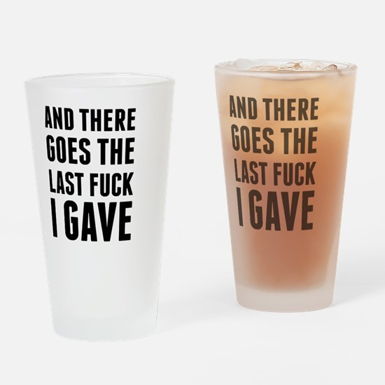 Cute Internet humor Drinking Glass