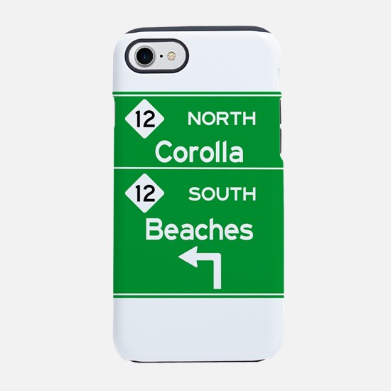 Outer Banks Route 12 Sign iPhone 8/7 Tough Case
