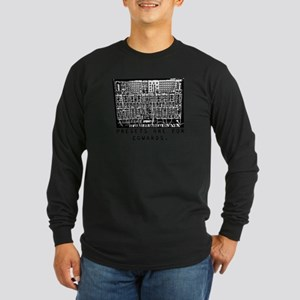 Presets Are For Cowards Synth Long Sleeve Dark T-S