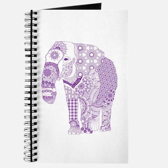 Tangled Purple Elephant Journal