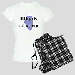 Illinois Bee Keeper Women's Light Pajamas