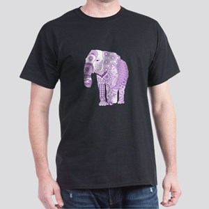 Tangled Purple Elephant T-Shirt