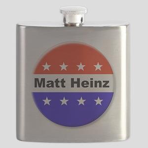 Vote Matt Heinz Flask