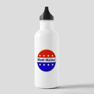 Vote Matt Heinz Water Bottle