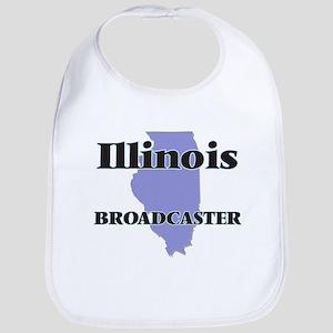 Illinois Broadcaster Bib
