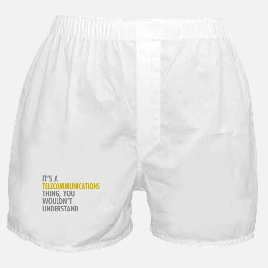 Telecommunications Thing Boxer Shorts