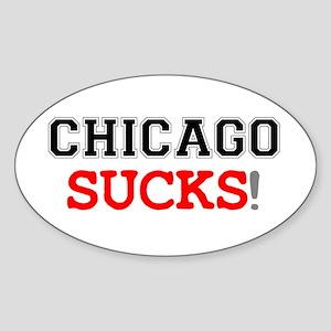 US CITIES SUCK! - CHICAGO Sticker