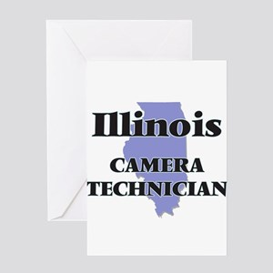 Illinois Camera Technician Greeting Cards