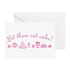 let-them-eat-cake_pk Greeting Cards