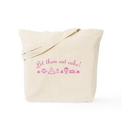 let-them-eat-cake_pk Tote Bag