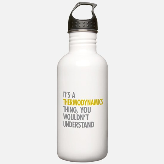 Thermodynamics Thing Water Bottle