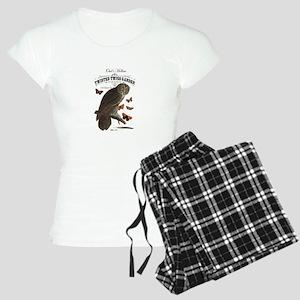 Modern Vintage Halloween owl Pajamas