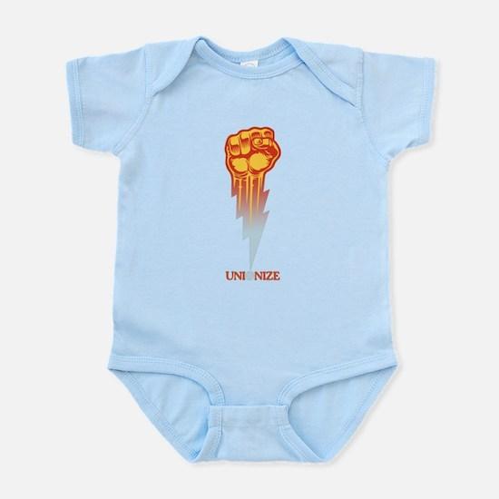 Unionize - Lightning Fist Infant Bodysuit