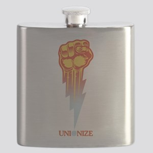 Unionize - Lightning Fist Flask
