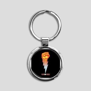 Unionize - Lightning Fist Round Keychain