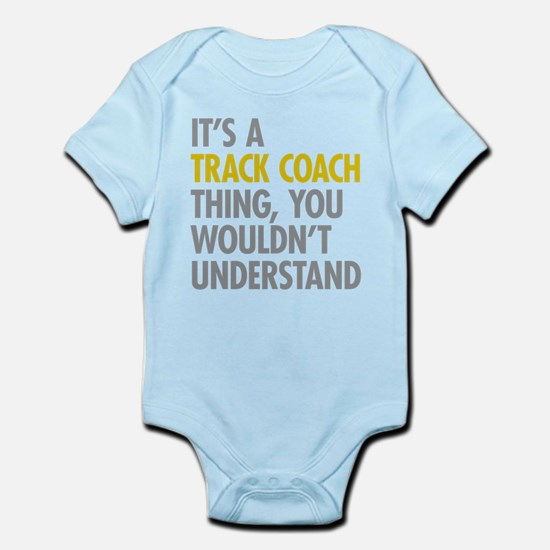 Track Coach Thing Body Suit
