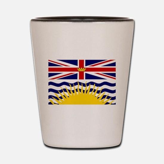 British Columbia Shot Glass