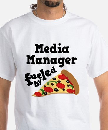 Media Manager pizza T-Shirt
