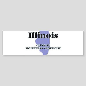 Illinois Clinical Molecular Genetic Bumper Sticker