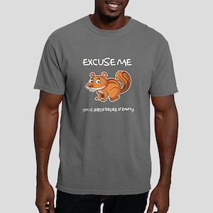 Rude Squirrel Mens Comfort Colors Shirt