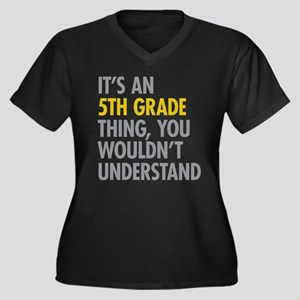 5th Grade Thing Plus Size T-Shirt