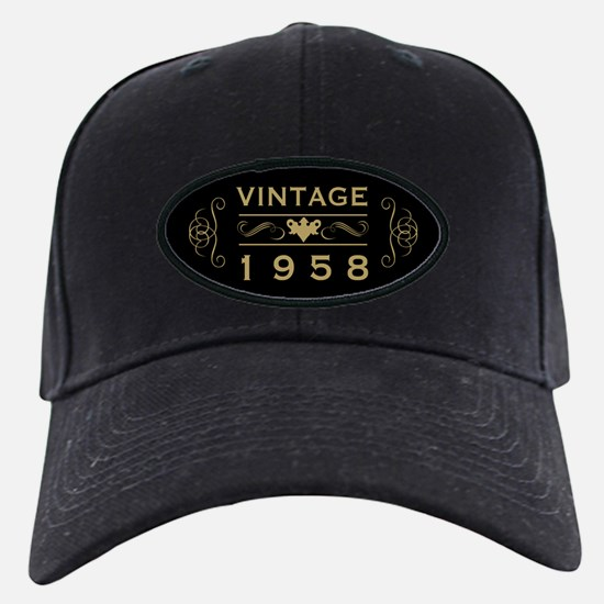 1958 Birth Year Baseball Hat