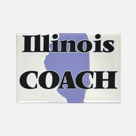 Illinois Coach Magnets