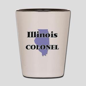 Illinois Colonel Shot Glass