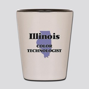 Illinois Color Technologist Shot Glass