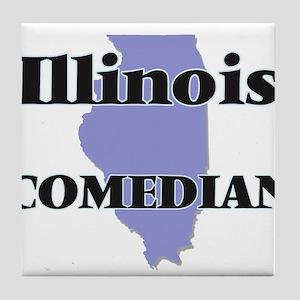 Illinois Comedian Tile Coaster