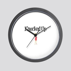 Knocked Up - Blond Wall Clock