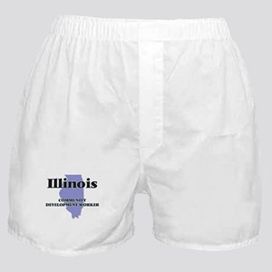 Illinois Community Development Worker Boxer Shorts