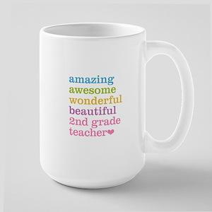 Amazing 2nd Grade Teacher Mugs