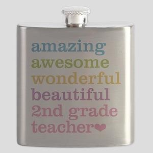 Amazing 2nd Grade Teacher Flask