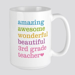 Amazing 3rd Grade Teacher Mugs