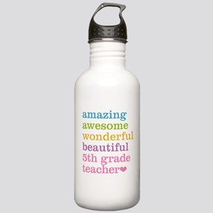 Amazing 5th Grade Teac Stainless Water Bottle 1.0L