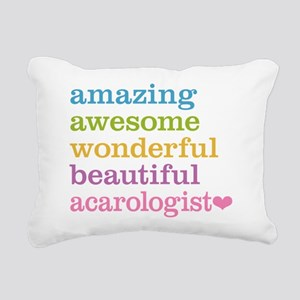 Amazing Acarologist Rectangular Canvas Pillow
