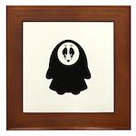 Scary Nun Framed Tile