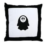 Scary Nun Throw Pillow