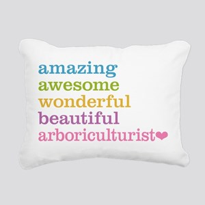 Amazing Arboriculturist Rectangular Canvas Pillow