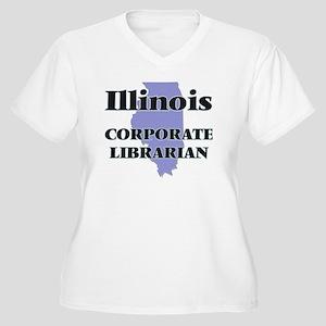 Illinois Corporate Librarian Plus Size T-Shirt