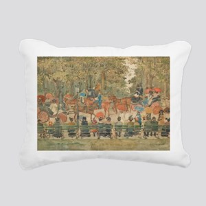 Central Park by Prenderg Rectangular Canvas Pillow