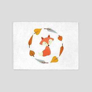 Sweet Autumn Fox 5'x7'Area Rug