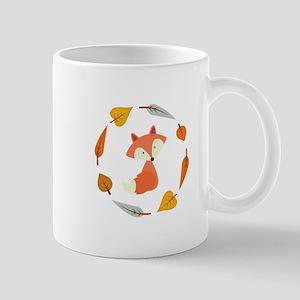 Sweet Autumn Fox Mugs