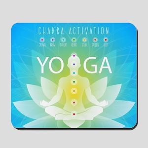 Yoga Chakra Activation Mousepad