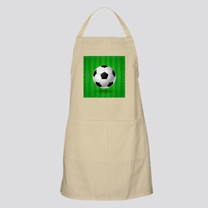 Football Ball And Field Apron