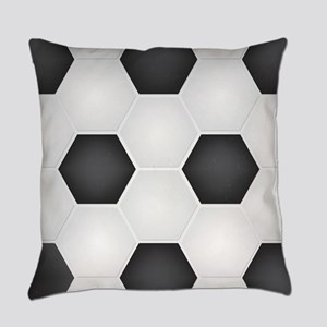 Football Ball Texture Everyday Pillow